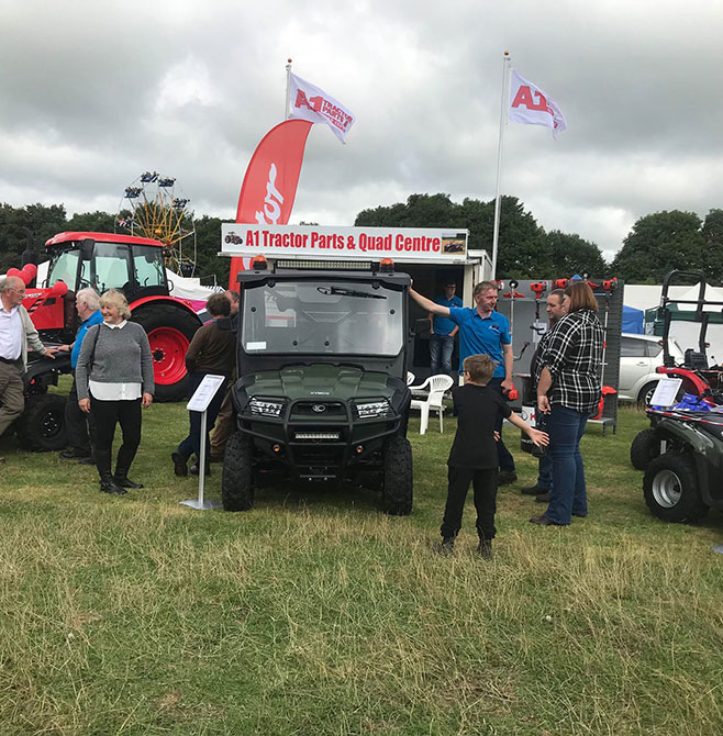 A1 Tractor Parts and Quad Centre Trade Show